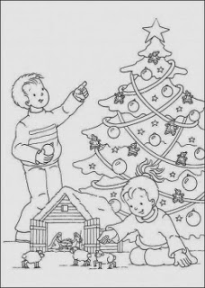 Christmas Coloring for the Kids…Crafts for Kids!