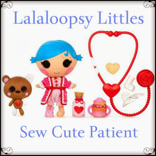 Lalaloopsy Littles Sew Cute Patient Doll