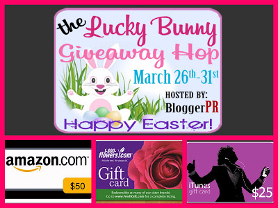 Lucky Bunny Giveaway Hop – $100 in Prizes!