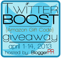 April Twitter Boost Giveaway – $100 Amazon Gift Code