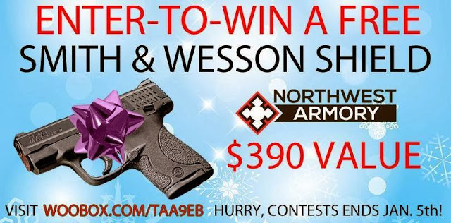 enter to win a Smith & Wesson Handgun Giveaway