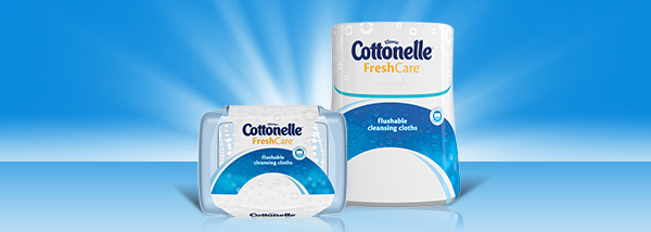 Bum Talk with Cottonelle Fresh Care Wipes