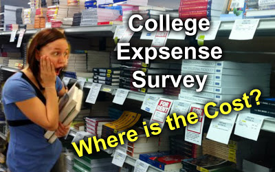 The Cost of College – Student Research Survey
