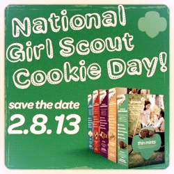 #WW Wordless Wednesday with Linky – Girl Scout Cookies