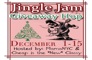 Jingle Jam Giveaway Hop – Win $90 Prizes!