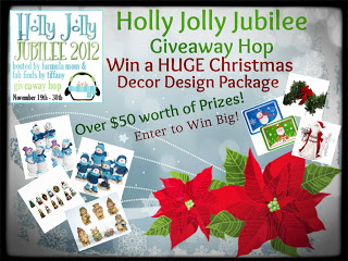 Holly Jolly Jubilee Giveaway Hop – Over $50 Worth of Holiday Decor