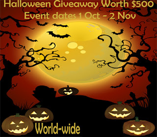 Hoppin' Halloween Mega Book Pack + Candy Giveaway Hop