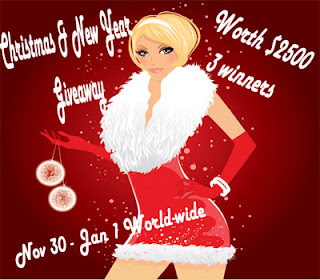 Free Blogger Opportunity – Christmas & New Year Giveaway