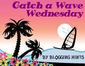 Blogging Hints Catch a Wave Wednesday