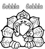 Free Printable Turkey Thanksgiving Day Coloring Page
